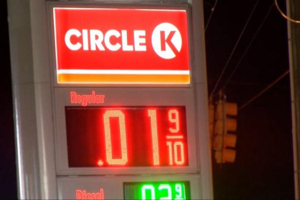 Circle K Gas Prices >> Glitch Causes Gas Price To Reach 1 Penny Per Gallon Upi Com