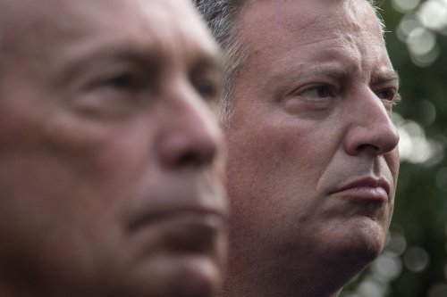 Bloomberg promises no criticism of incoming mayor de Blasio