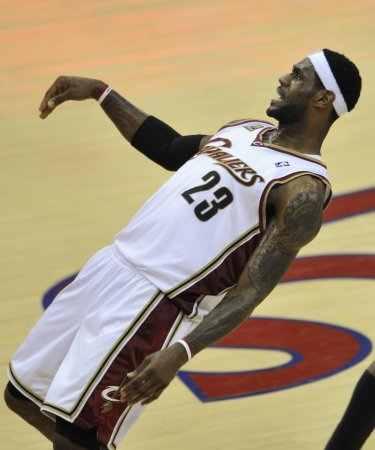 New 'king' of South Beach: LeBron James
