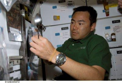Space station gets bigger