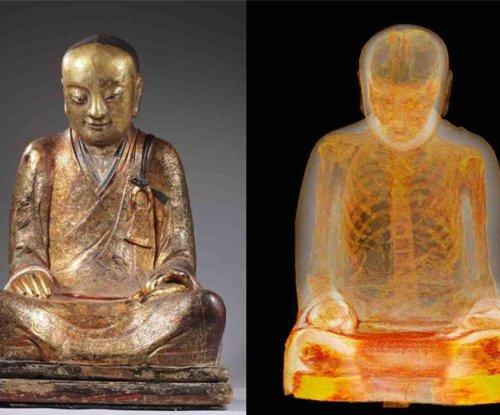 Mummy found inside 1,000-year-old statue of Buddha