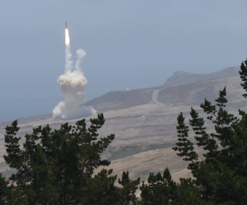 Pentagon video shows dramatic shoot-down of mock missile