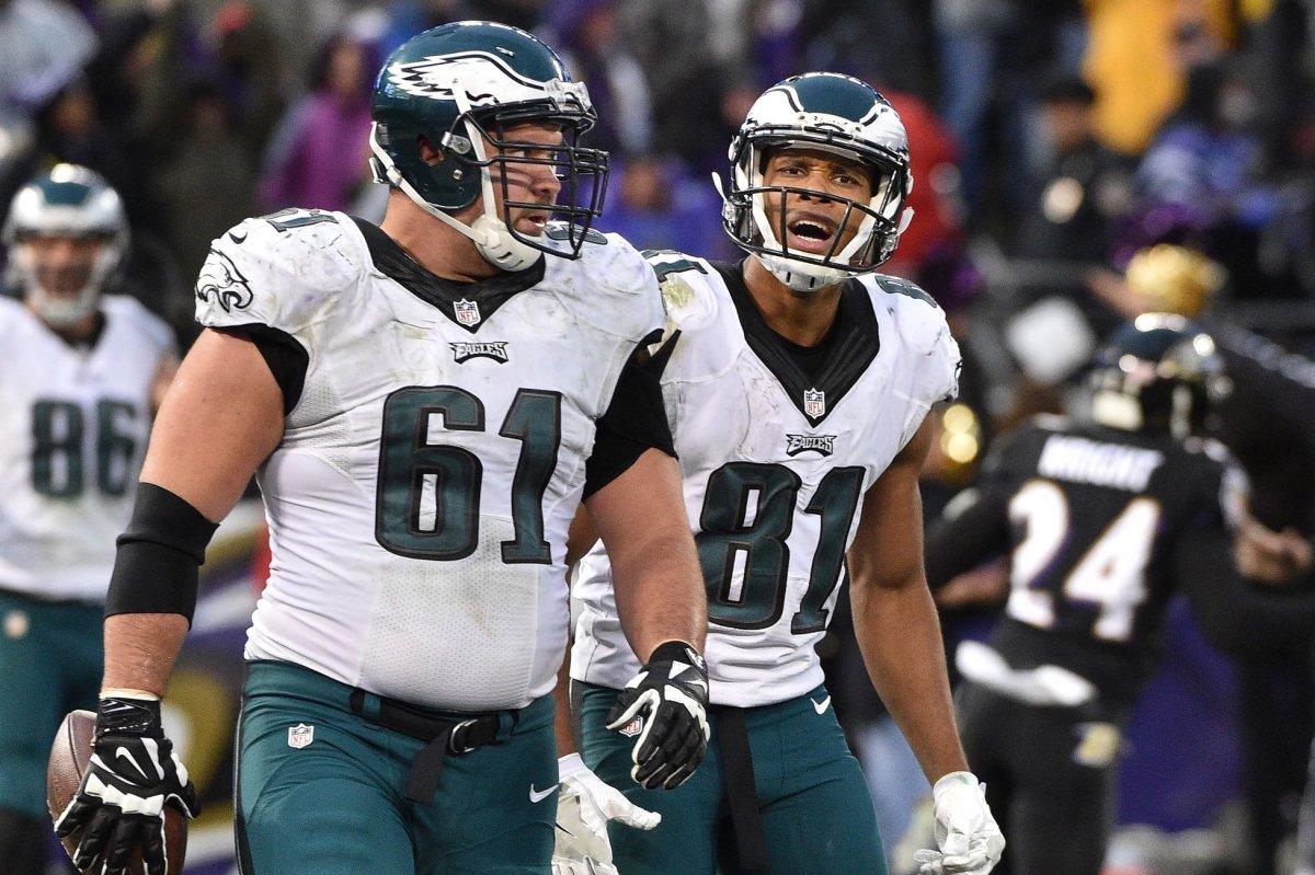 7f088500054 ... Jordan Matthews Buffalo Bills acquire wide receiver from Philadelphia  Eagles - UPI.com Nike Eagles 81 ...