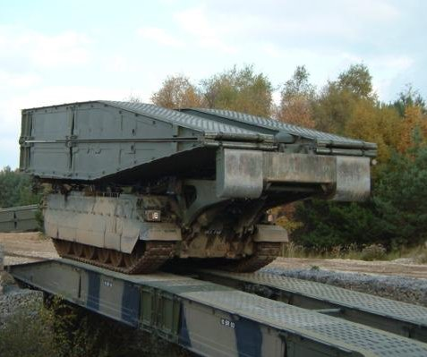 New BAE bridging system tested with weight of Main Battle Tank