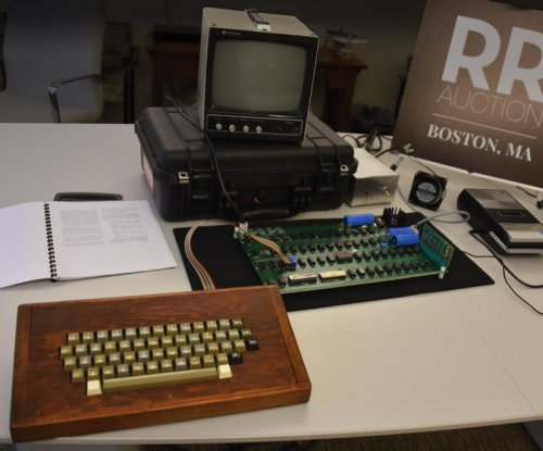 Apple-1 computer with Steve Wozniak's signature on box up for auction