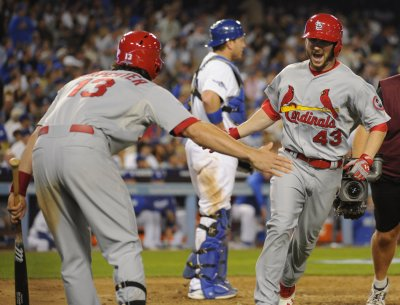 MLB: St. Louis 4, Los Angeles Dodgers 2