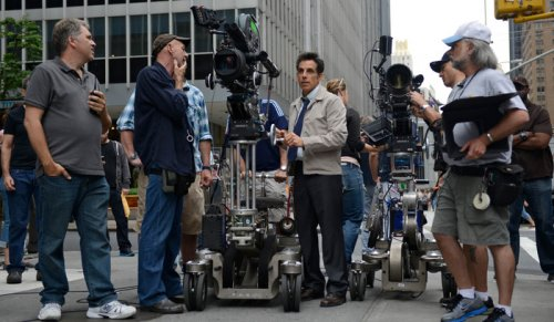 Stiller says shooting 'Walter Mitty' scene was a fantasy come true