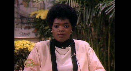 Oprah Winfrey unveils talk show audition tape from 1983