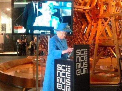 Queen Elizabeth II sends out her first tweet
