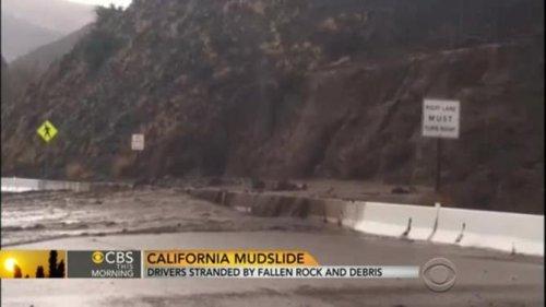 California storms bring rain, mudslides