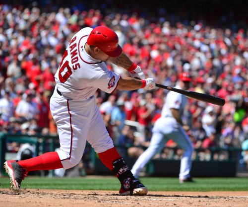 Wilson Ramos' 4-hit night powers Washington Nationals past Atlanta Braves