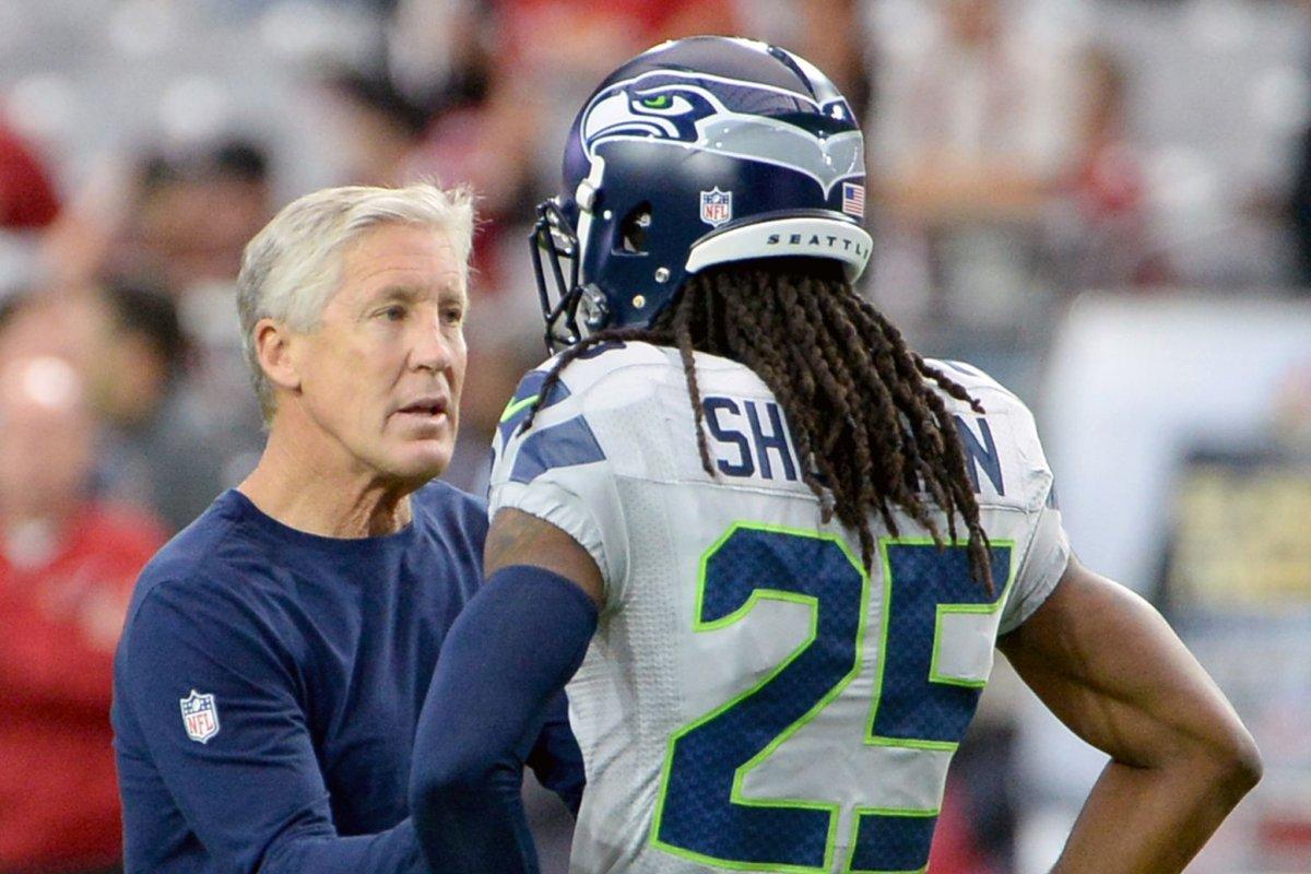 Seattle Seahawks downplay reported turmoil between Richard Sherman