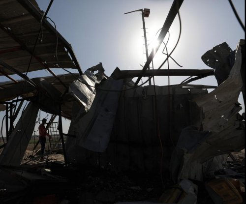 Israel Defense Forces strike Gaza Strip after Hamas rocket attack