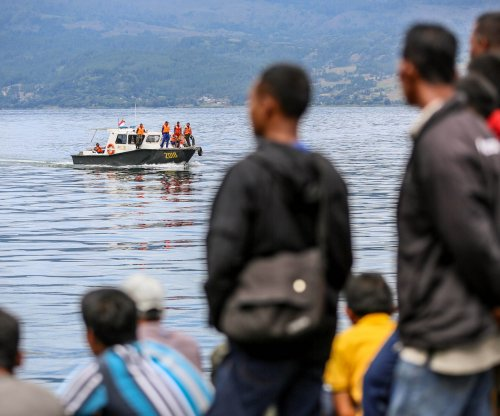 Nearly 200 from sunken ferry missing at Indonesia lake