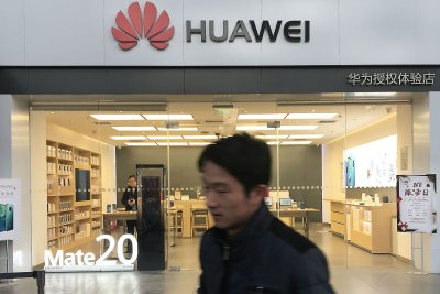 Huawei suing U.S. firm for discriminatory patent policy