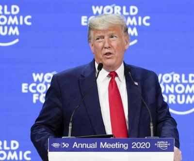 Trump touts U.S. economy, commits to trees initiative at Swiss forum
