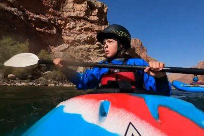 Boy, 10, becomes youngest to kayak the Grand Canyon