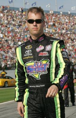 Suspended NASCAR driver Mayfield arrested