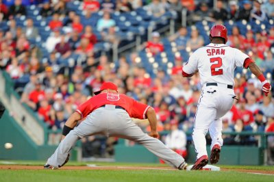 Los Angeles Angels beat Washington Nationals 4-1
