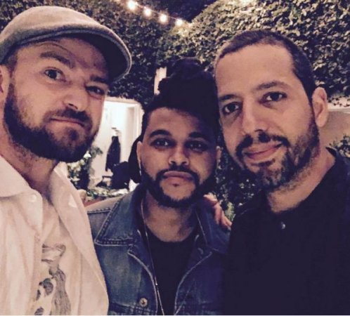 Justin Timberlake enjoys night out with The Weeknd, David Blaine