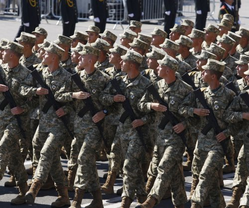 Ukraine's National Guard gets new vehicles