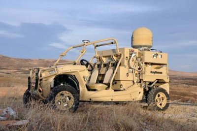 U.S. Air Force tests microwave, laser weapon systems