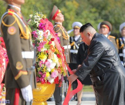 Kim Jong Un honors Chinese troops of the Korean War