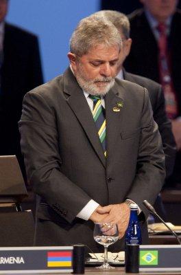 Da Silva hospitalized in Brazil