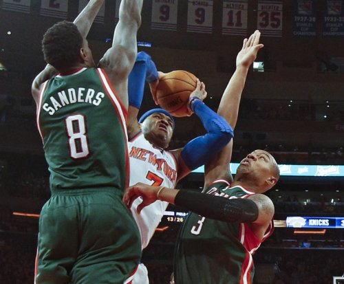 Milwaukee Bucks' Sanders gets drug suspension