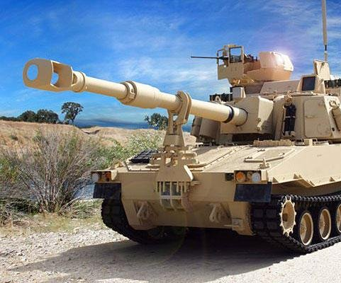 Army receives new self-propelled Howitzer