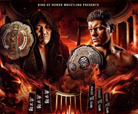 Ring of Honor, New Japan Pro-Wrestling collide at Death Before Dishonor XV