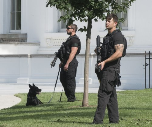 White House on lockdown after car strikes security barrier