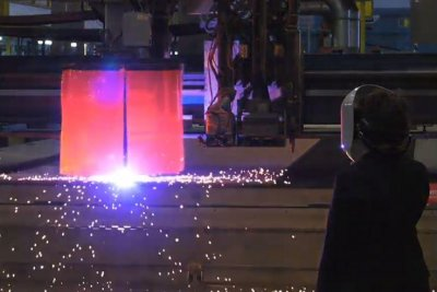 HII cuts first steel for Columbia-class submarine program