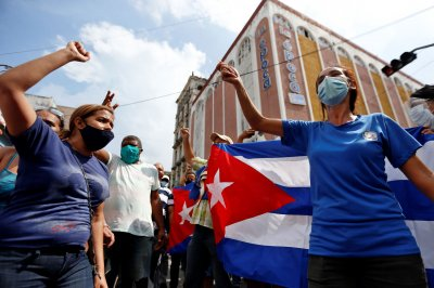 Biden calls on Cuban government to 'hear' protesters