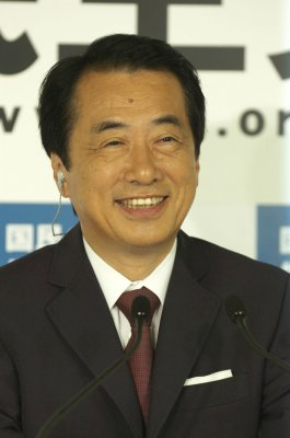 Naoto Kan elected prime minister of Japan