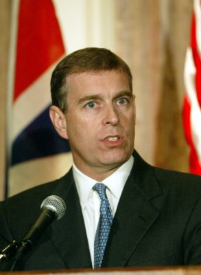 Prince Andrew visits Canadian reservists