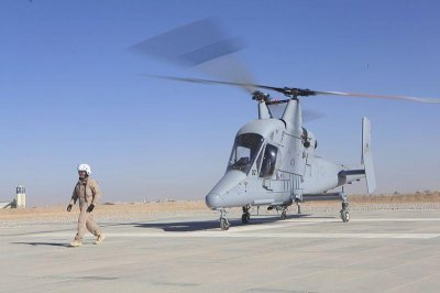 Unmanned cargo-carrying helo returns to U.S. from Afghanistan