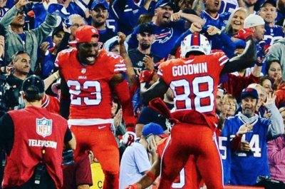 Buffalo Bills' Marquise Goodwin in concussion protocol for second time this month