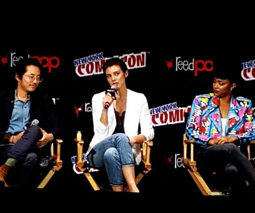 'Walking Dead' star Lauren Cohan dissolves into tears at New York Comic Con fan event