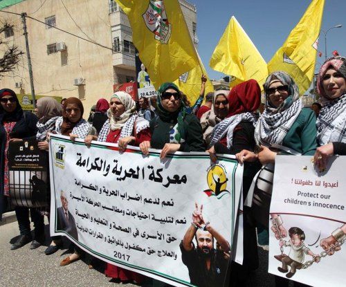 Palestinian hunger strike leaders in solitary confinement
