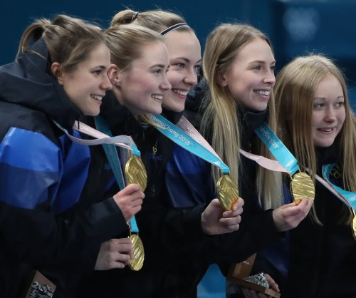 Sweden outclasses South Korea to claim third Olympic title in women's curling