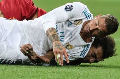 Ramos tweets Salah after injuring him in Champions League final
