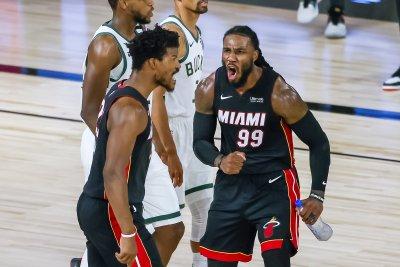 Miami Heat rally to take 3-0 series lead over Milwaukee Bucks