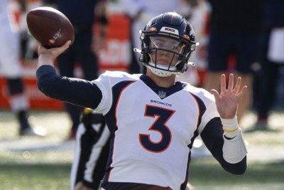 Broncos 'like' QB Drew Lock, will still 'look at position'
