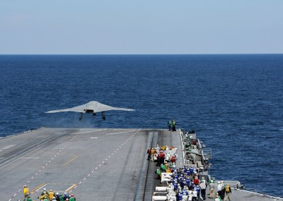 USS George H.W. Bush in Persian Gulf as contingency for Iraq military option