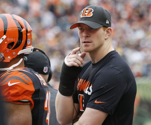 Andy Dalton optimistic, but Cincinnati Bengals plan on A.J. McCarron