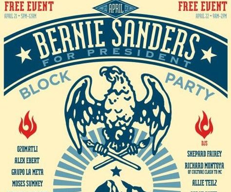 Berniechella: Free music festival set to honor Bernie Sanders