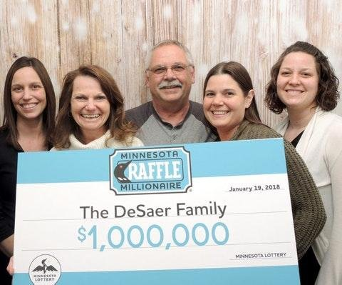 Christmas gift turns into $1 million lottery prize for Minnesota man