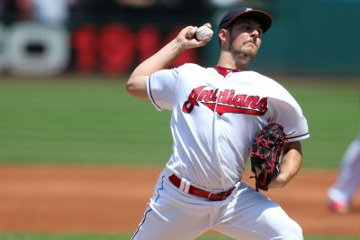 Cleveland Indians' Adam Plutko steps in for injured Trevor Bauer vs. Baltimore Orioles