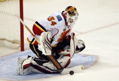 NHL: Calgary 3, Detroit 0